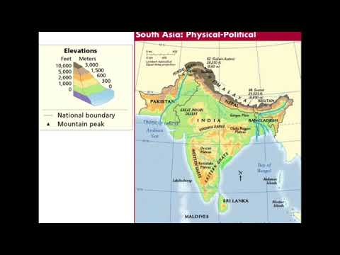 1 South Asia: Physical Geography, Climate and Vegetation