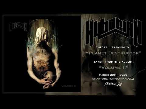 Hyborian - Planet Destructor (official track premiere)