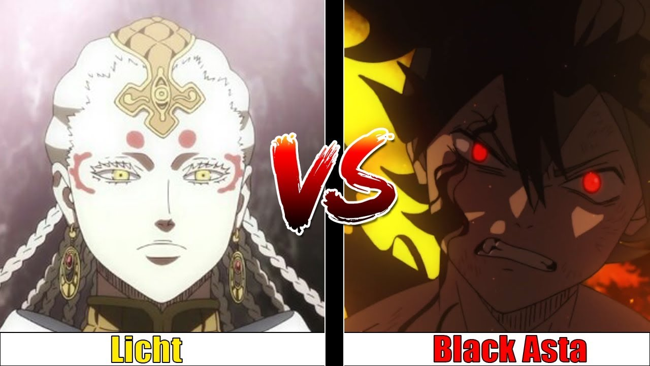 Could Black Asta Defeat Licht Black Clover Youtube Asta looks on in awe at the true power of his. could black asta defeat licht black clover