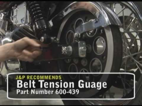 Motorcycle Tech TIp - Chains and Belts.  Brought to you by J&P Cycles.