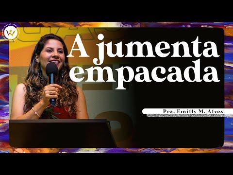 CMB Online 19h | A jumenta empacada - Pra Emilly M. Alves | 22/08/2021