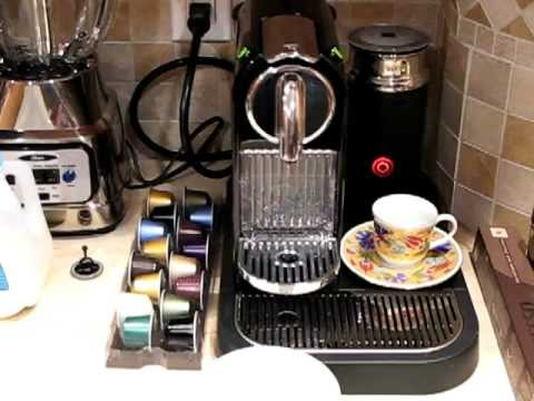How to Make a Coffee Latte with the Nespresso CitiZ ...