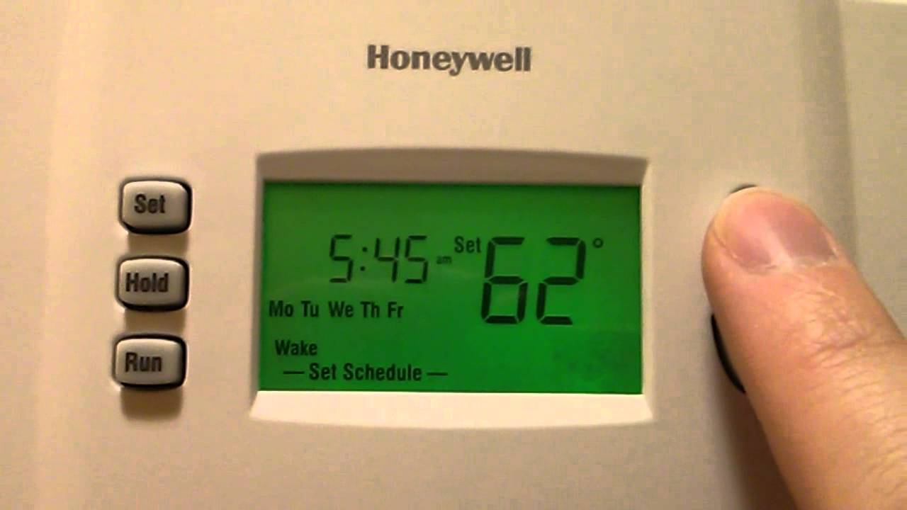 How To Program Honeywell Automatic Thermostat