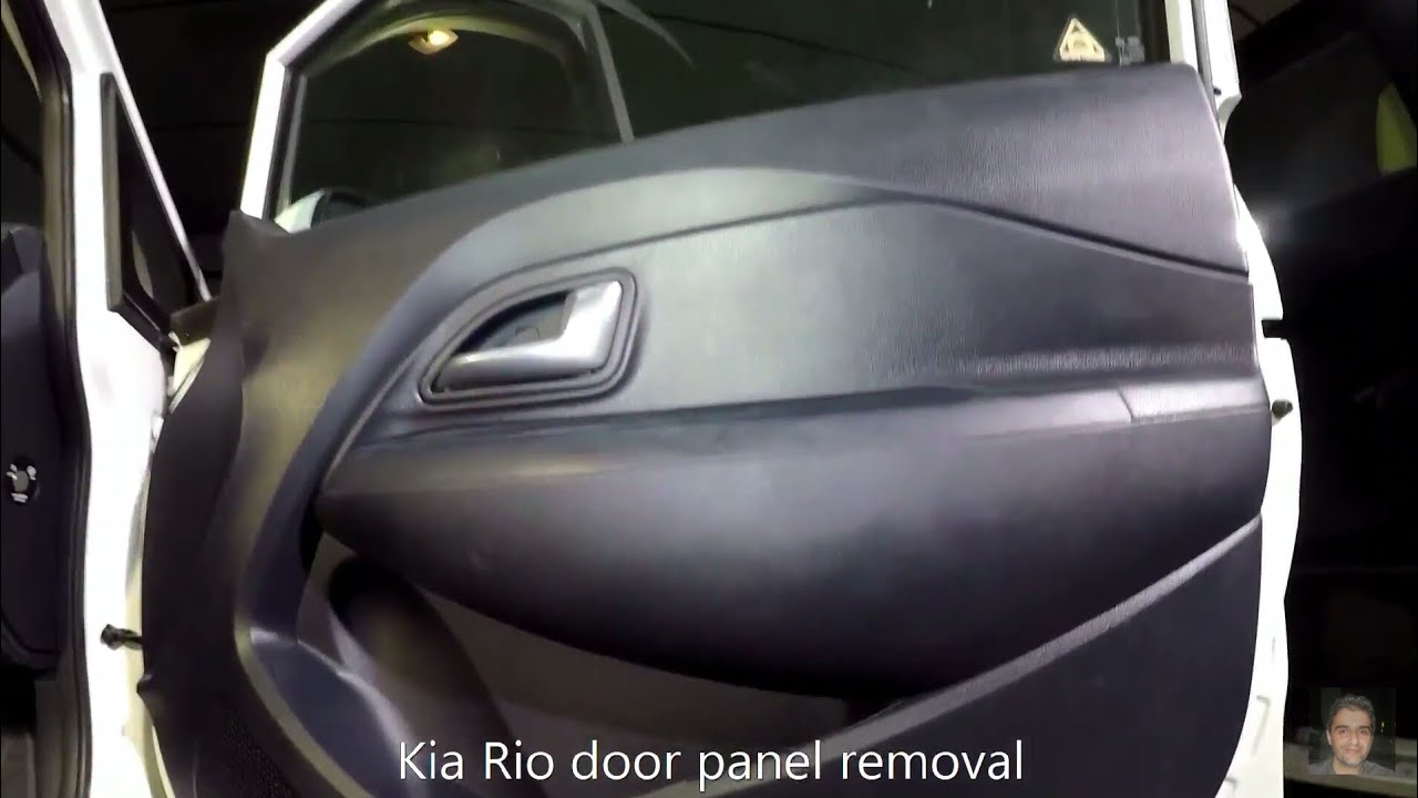 Kia Rio 2011 2017 Door Panel Removal Youtube