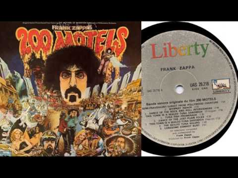 Frank Zappa  1971  ( The Mothers Of Inventon)  200 Motels
