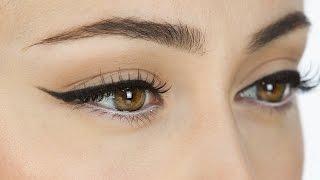 Einfaches Augen Make-Up und dunkelrote Lippen | Go To Look | Hatice Schmidt