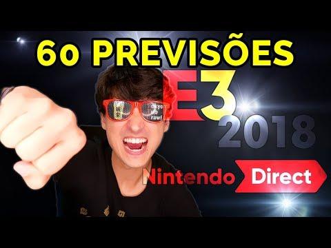 Nintendo Direct E3 2018 - O Grande Video de Previsões