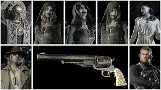 Resident Evil 8 Village - All Models Showcase (Characters, Enemies, & Weapons)