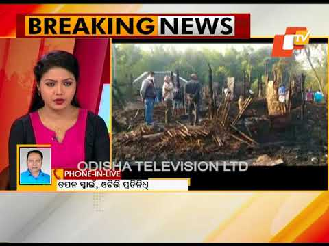 75 rooms gutted in fire mishap at Bhadrak