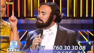 Toy (Luciano Pavarotti) - A Tua Cara Não Me É Estranha (TVI)