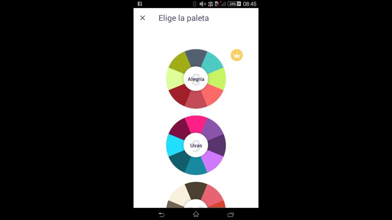 Mis creación de aplicacion (libro para colorear para mi) - YouTube