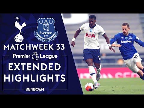 Tottenham v. Everton | PREMIER LEAGUE HIGHLIGHTS | 7/6/2020 | NBC Sports