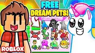 Giving People Their DREAM PETS in Adopt Me for FREE! Roblox Adopt Me