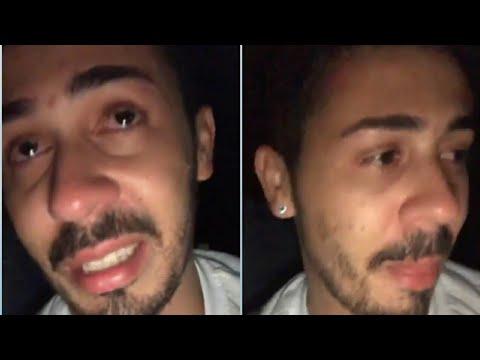 Carlinhos Maia chora ao saber da morte de um fã