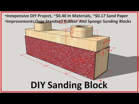 how to use dura block sanding blocks
