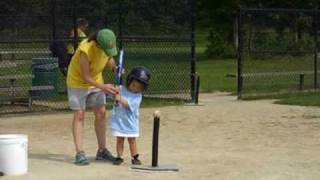 Tee ball for 3-year-olds