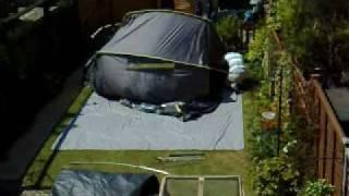 practice putting up a 6 man tent