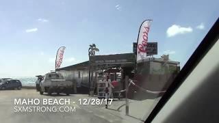 Maho Beach - Sunset Beach Bar, Driftwood Boat Bar