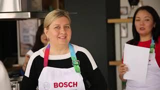 Второй кулинарный мастер-класс от Bosch!