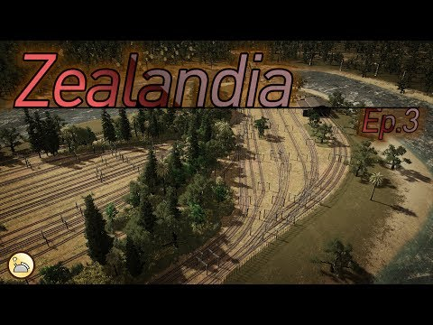 Cities: Skylines - Zealandia [EP.3: Hamilton Trainyard & M17 Completion]