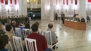 Волгоградские ветераны провели Урок Победы в музее-панораме «Сталинградская битва»