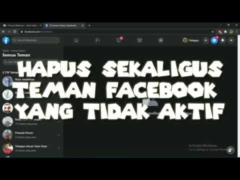 Cara Jualan Online di FB (Cara Unfriend FB Massal di Android & IOS).