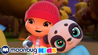 The Panda Bear Went Over the Mountain   Little Baby Bum   Cartoons for Kids   Moonbug Kids