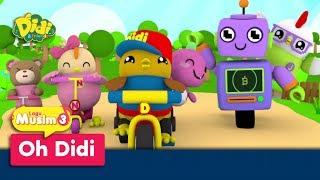 Didi & Friends | Lagu Baru Musim 3 | Oh Didi
