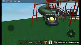 Bacon hairs arn't all bad! Roblox park bully story part 1