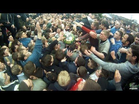Ashbourne Royal Shrovetide Football 2014 (GoPro)