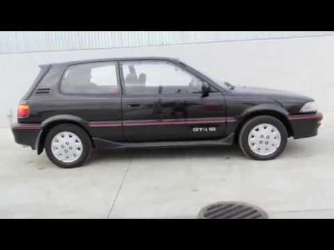 New Trans Am >> 1990 TOYOTA COROLLA GTI - 16V 4AGE - YouTube