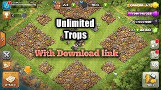 2018!New clash of clans super MOD version.Unlimited anythig. With DOWNLOAD link.