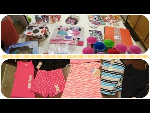 Five Below and Walmart Haul! #DisneySide Party Shopping and More