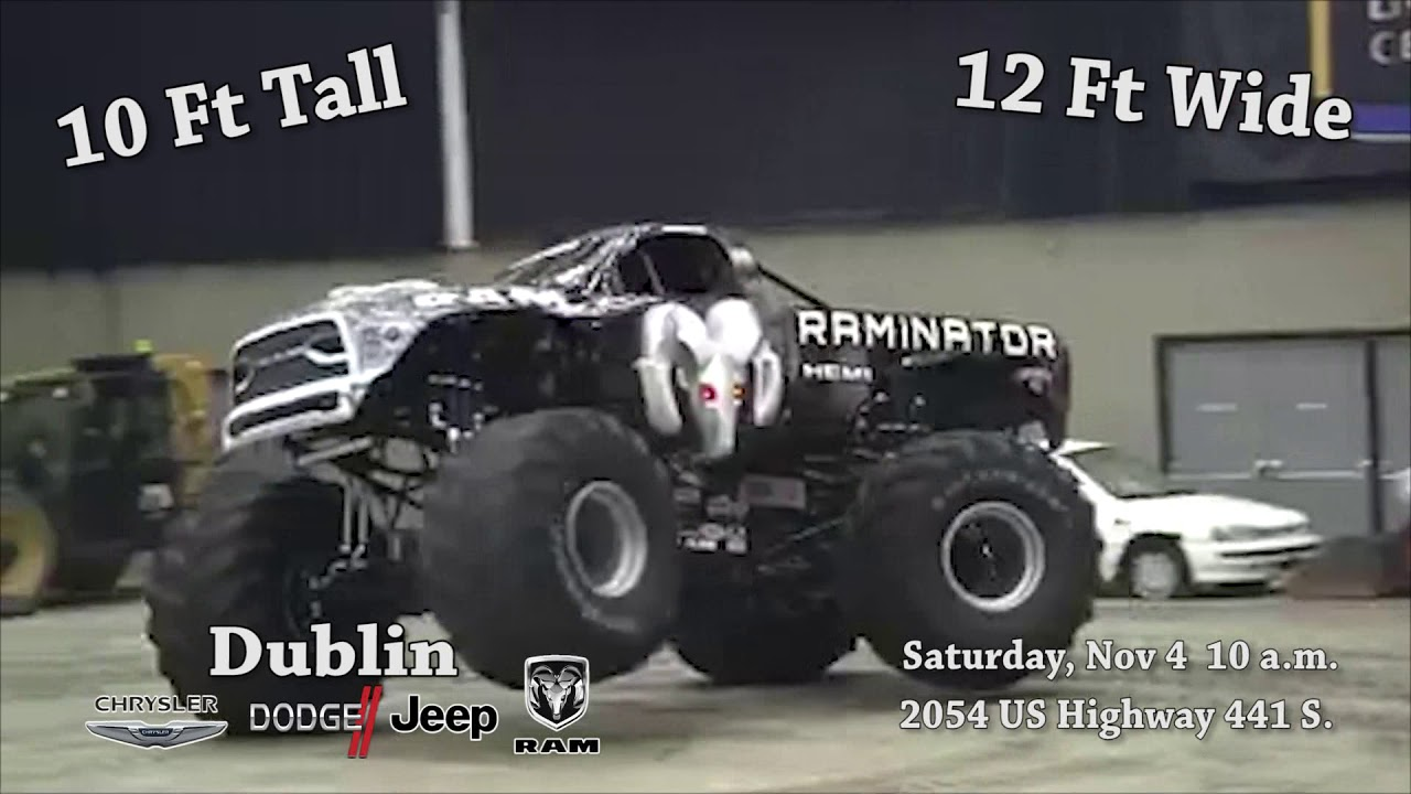 Raminator At Dublin Chrysler Dodge Jeep Ram   November 4