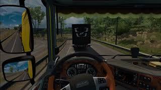 Euro Truck Simulator 2:Funny Moment!!!