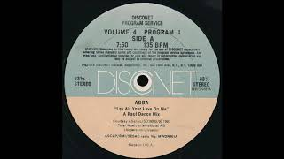 ABBA - Lay all your love on me Disconet remix (HQ)