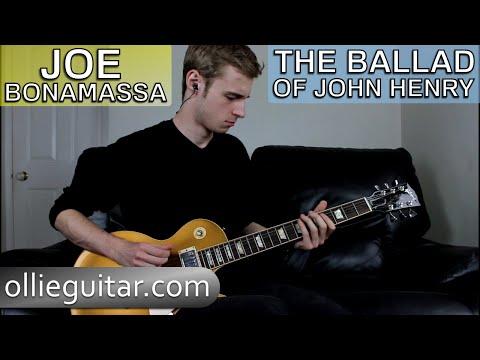 How To Play 'The Ballad Of John Henry' (Joe Bonamassa) On Guitar   OllieGuitar