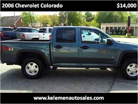 2006 chevrolet colorado used cars high point nc youtube. Black Bedroom Furniture Sets. Home Design Ideas
