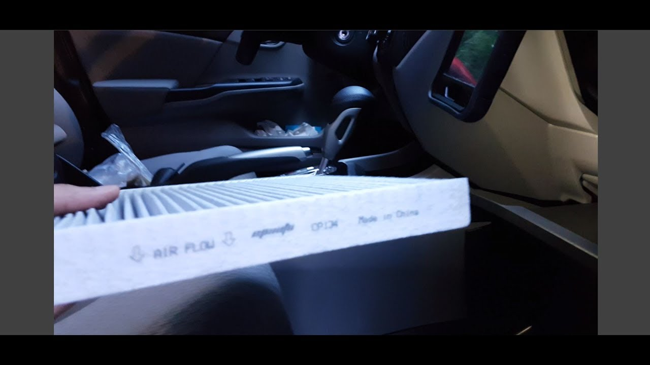 2015 Honda Civic Cabin Air Filter Replacement Youtube