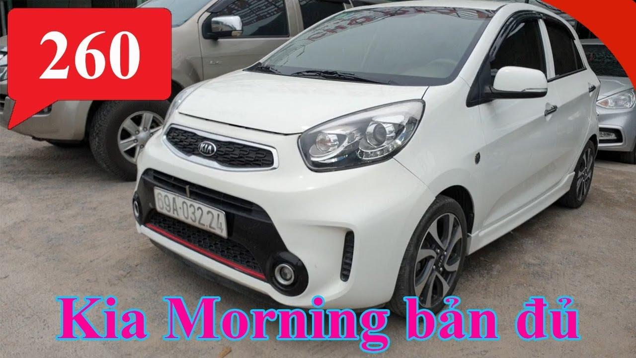 Chào bán kia morning cũ giá rẻ đời 2016 bản đủ số sàn   Mua bán ô tô