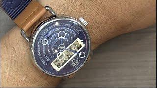 Como vemos la hora en este reloj Xeric Halograph Limited Edition