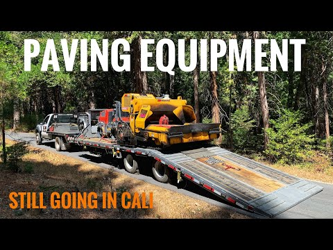 Paving Equipment  | Cali Still Going