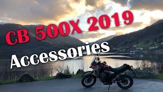 Honda CB500X 2019 Accessories part1