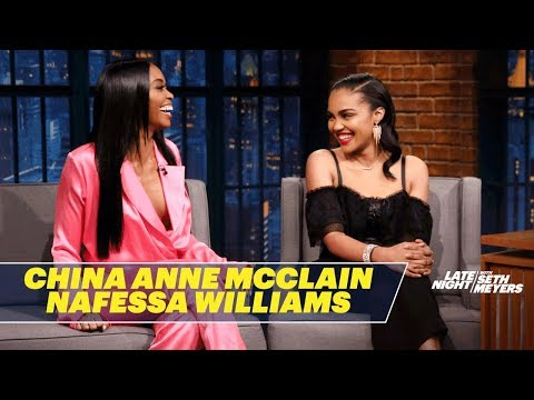 China Anne McClain and Nafessa Williams Talk Black Lightning