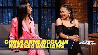 China Anne McClain and Nafessa Williams Talk Black Lightning