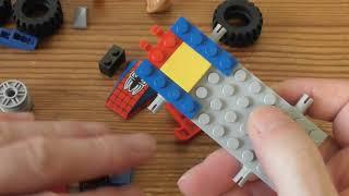 Building Lego Spiderman Spiderman Car Chase Set 76133