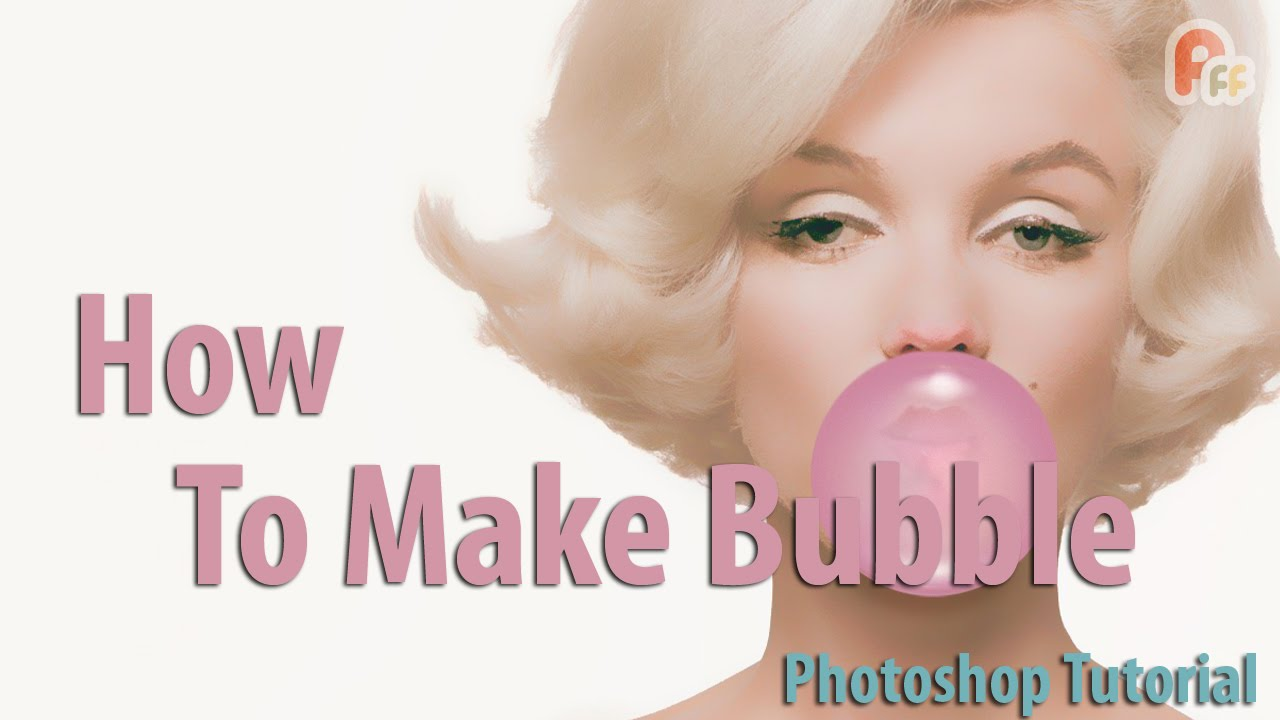 Photo Tutorial Marilyn Monroe And Bubble Gum Lazy