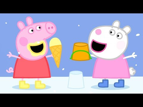 Peppa Pig English Episodes in 4K | Sun, Sea and Snow! | #102