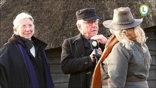 Veluwse Midwienterhoornbloazers blazen af bij de Schaapskooi