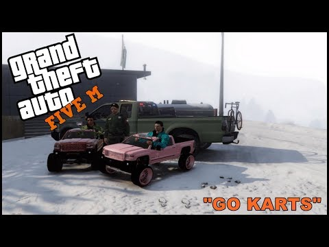 GTA 5 ROLEPLAY - GETTING IN TROUBLE WITH GO KARTS - EP. 268 - CIV